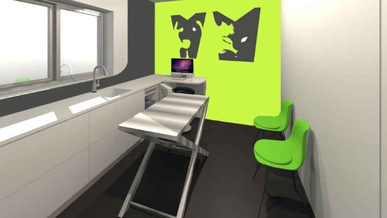 agence d'architecture commerciale Conception clinique vétérinaire