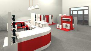 concept comptoir HITACHI