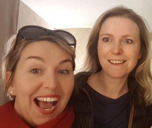 Nathalie (à gauche) et Julie (à droite)
